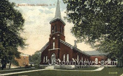 Baptist Church - Canastota, New York NY Postcard