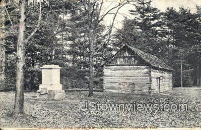 Indian Council House - Letchworth Park, New York NY Postcard
