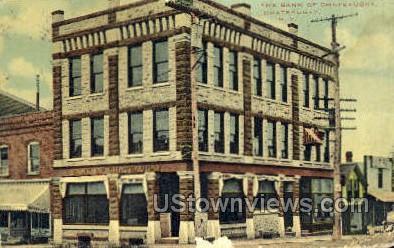 Bank of Chateaugay - New York NY Postcard