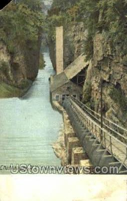 Chateaugay Chasm Power Co. - New York NY Postcard