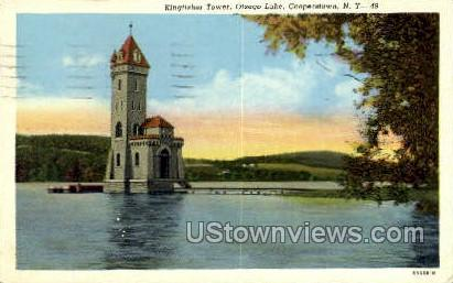 Kingfisher Tower - Cooperstown, New York NY Postcard