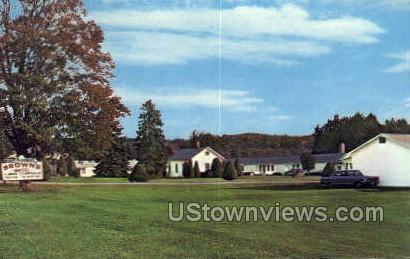 Brown's Motel - Cazenovia, New York NY Postcard