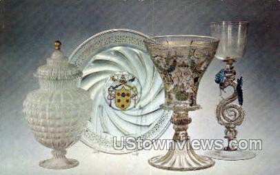 Corning Museum of Glass - New York NY Postcard