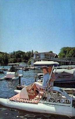 Lakefront Motel - Cooperstown, New York NY Postcard