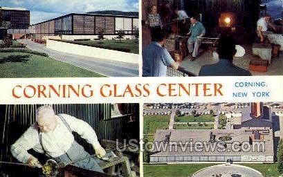 Corning Glass Center - New York NY Postcard