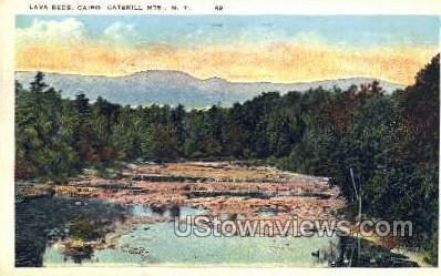 Lava Beds, Catskill Mountains - Cairo, New York NY Postcard