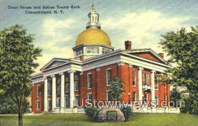 Court House - Canandaigua, New York NY Postcard
