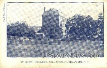 St. Joseph College - Callicoon, New York NY Postcard