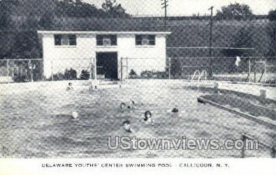 Delaware Youths' Center - Callicoon, New York NY Postcard