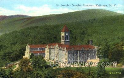 St. Joseph's Seraphic Seminary - Callicoon, New York NY Postcard