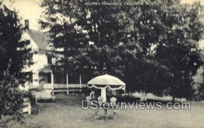 Nohise's Farmhouse - Callicoon, New York NY Postcard