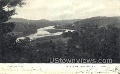 Plum Island - Callicoon, New York NY Postcard
