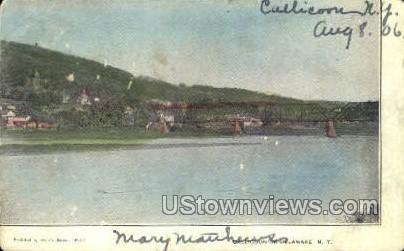 Callicoon-on-Delaware - New York NY Postcard