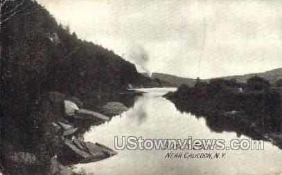 Bush's Eddy - Callicoon, New York NY Postcard
