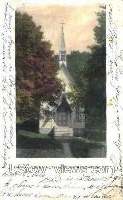Episcopal Church at Callicoon - New York NY Postcard