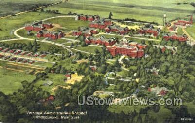 Veterans Admin Hospital - Canandaigua, New York NY Postcard
