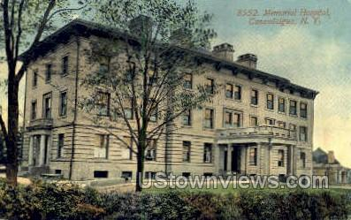 8552 Memorial Hospital - Canandaigua, New York NY Postcard