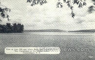 Bare Hill & Whale Back - Canandaigua, New York NY Postcard