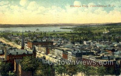 Birdseye View - Canandaigua, New York NY Postcard
