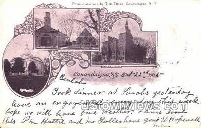 Union Free School - Canandaigua, New York NY Postcard