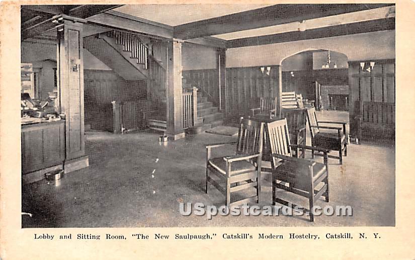 The New Saulpaugh - Catskill, New York NY Postcard