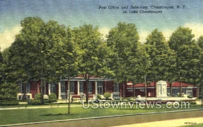 Post Office & Refectory - Chautauqua, New York NY Postcard