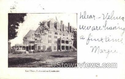 Kent House - Chautauqua, New York NY Postcard