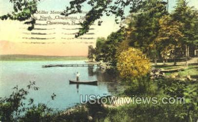 Miller Memorial - Chautauqua, New York NY Postcard