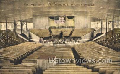 The Amphitheatre - Chautauqua, New York NY Postcard