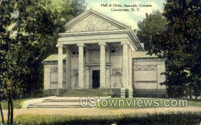 Hall of Christ, Assmebly Grounds - Chautauqua, New York NY Postcard
