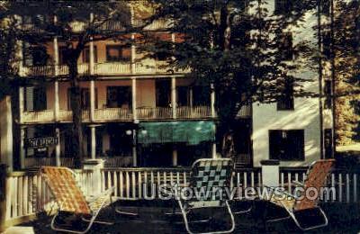 The Spencer Hotel - Chautauqua, New York NY Postcard