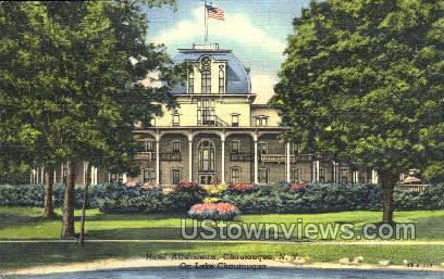 Hotel Athenaeum - Chautauqua, New York NY Postcard
