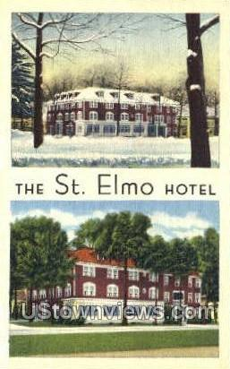 St. Elmo Hotel - Chautauqua, New York NY Postcard