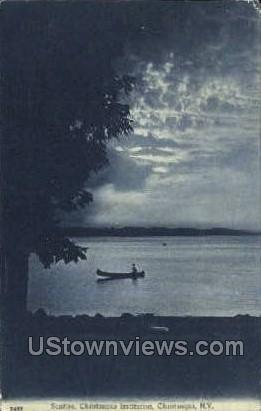 Sunrise, Chautauqua Institution - New York NY Postcard