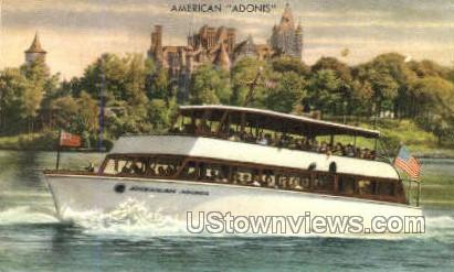 American Adonis - Clayton, New York NY Postcard
