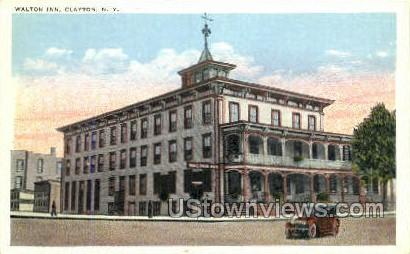 Walton Inn - Clayton, New York NY Postcard