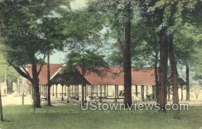 Pierce Pavilion, Sanitarium Park - Clifton Springs, New York NY Postcard