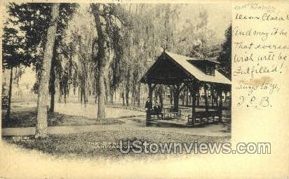 The Spring House, Sanitarium Park - Clifton Springs, New York NY Postcard