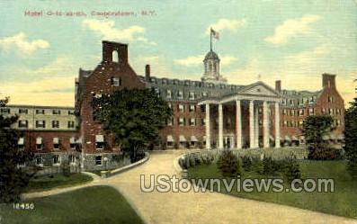 Hotel Otesaga - Cooperstown, New York NY Postcard