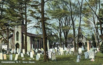 Christ Church - Cooperstown, New York NY Postcard