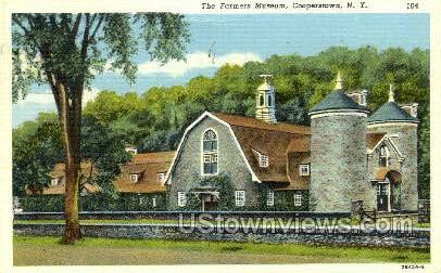 Farmers' Museum - Cooperstown, New York NY Postcard