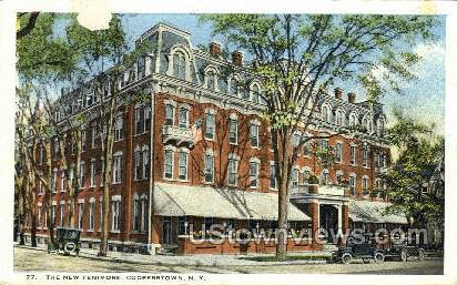 New Fenimore - Cooperstown, New York NY Postcard