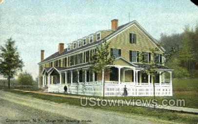 Otsego Hall - Cooperstown, New York NY Postcard