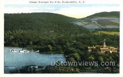 Otsego - Cooperstown, New York NY Postcard