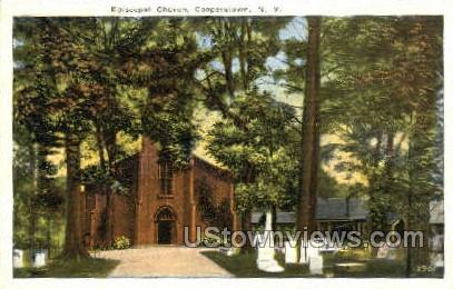 Episcopal Church - Cooperstown, New York NY Postcard