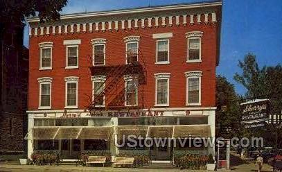 Sherry's Famous Restaurant - Cooperstown, New York NY Postcard
