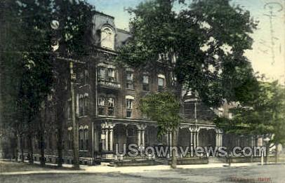Fenimore Hotel - Cooperstown, New York NY Postcard