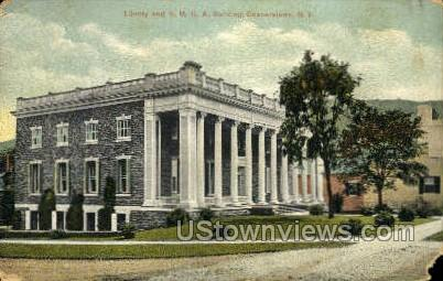 YMCA Bldg - Cooperstown, New York NY Postcard
