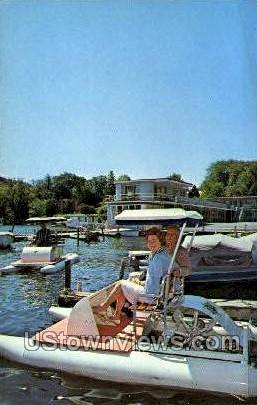 Lake Front Motel - Cooperstown, New York NY Postcard
