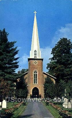 Christ Episcopal Church - Cooperstown, New York NY Postcard
